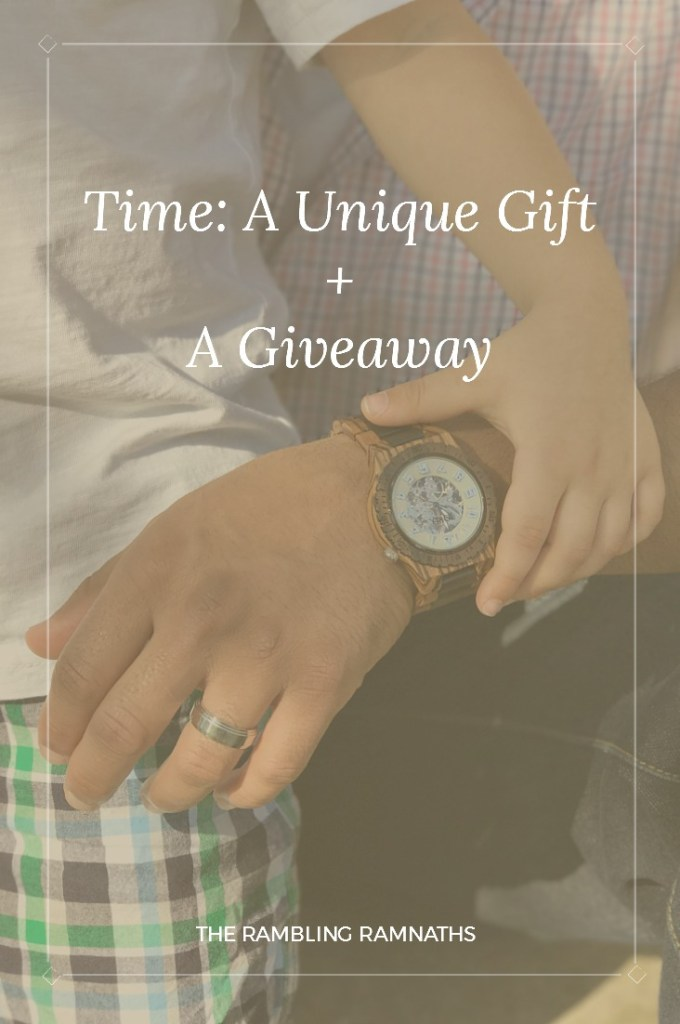 Time: A Unique Gift + A Giveaway