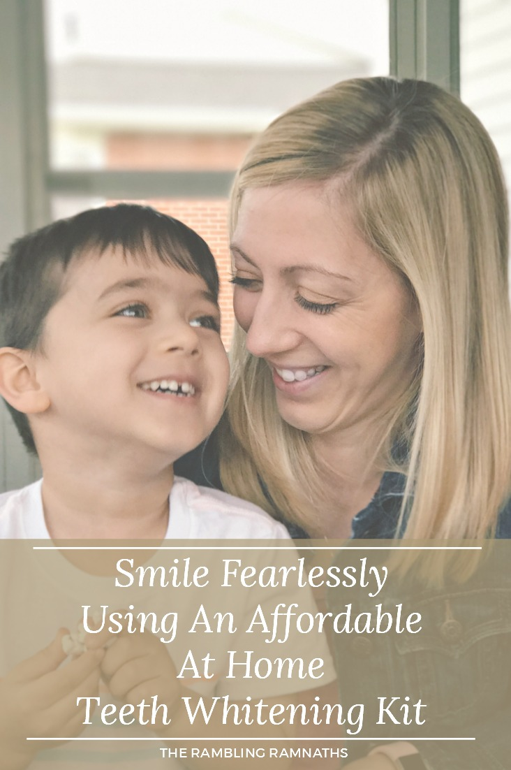 Check out my results from using an affordable at home teeth whitening system from Smile Brilliant. Find out the story behind my hesistations and why I recommend this company.  Plus I learned what it means to smile fearlessly.