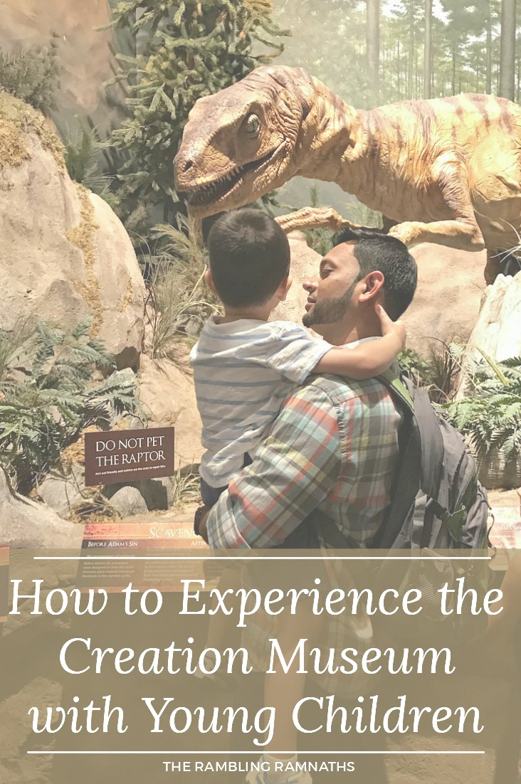 Taking your little ones to the Creation Museum in Petersburg, Kentucky can seem a little overwhelming. However, I quickly discovered it can actually be a fun and enjoyable trip. Check out how to experience the Creation Museum with Young Children. These are just a few tips I discovered along the way.