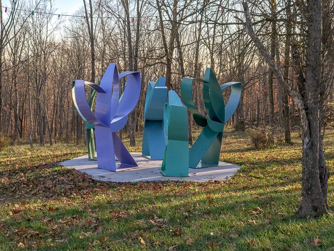 Family Friendly Art at Pyramid Hill Sculpture Park