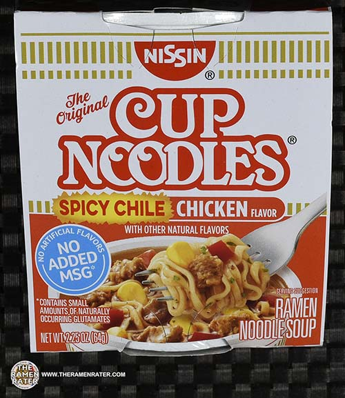 Nissin Cup Noodles Spicy Chile Chicken