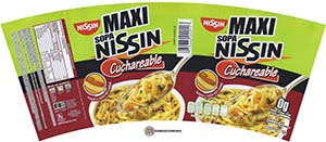 Meet The Manufacturer: #2343: Nissin Maxi Sopa Nissin Cuchareable Sabor A Jugo De Carne - Mexico - The Ramen Rater