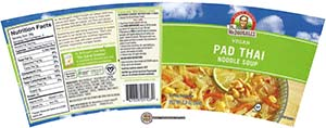 #2426: Dr. McDougall's Vegan Pad Thai Noodle Soup - United States - The Ramen Rater