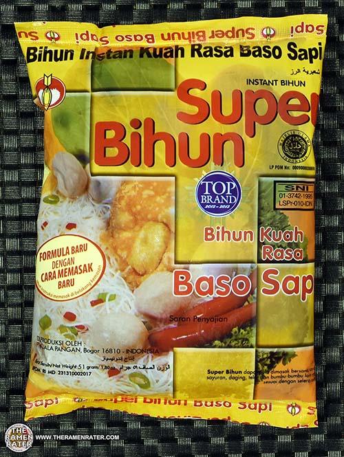 #2417: Super Bihun Bihun Kuah Rasa Baso Sapi - Indonesia - The Ramen Rater - rice vermicelli - beehoon