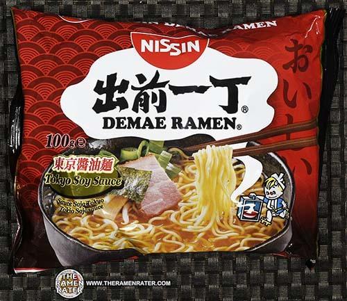 Meet The Manufacturer: #2484: Nissin Demae Ramen Tokyo Soy Sauce - The Ramen Rater - Germany - instant noodles