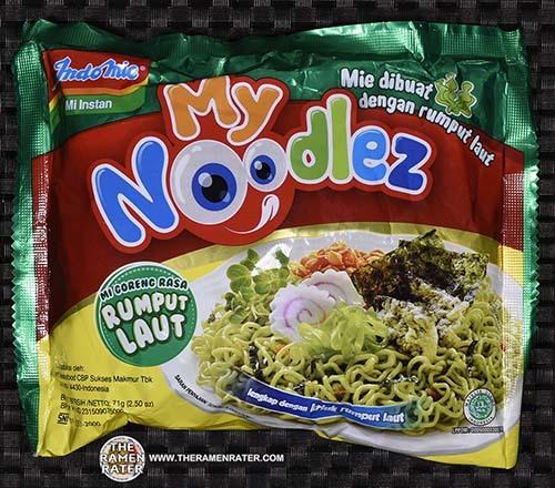 #2507: Indomie Mi Instant My Noodlez Mi Goreng Rasa Rumput Laut - Indonesia - The Ramen Rater - instant noodles