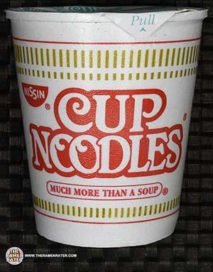 #2508: Nissin Cup Noodles Chicken Vegetable Flavor Ramen Noodle Soup (New Recipe) - United States - The Ramen Rater - instant noodles
