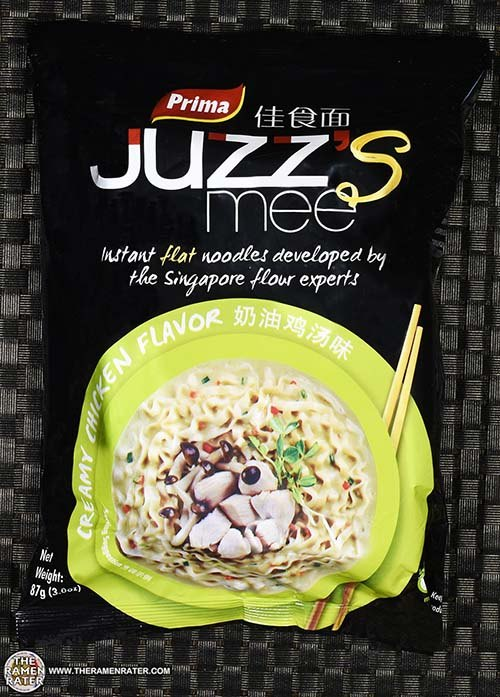 #2528: Prima Juzz's Mee Creamy Chicken Flavor (Export Version) - Sri Lanka - The Ramen Rater - instant noodles