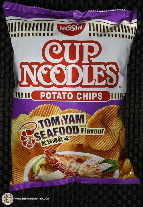 #2538: Nissin Cup Noodles Potato Chips Tom Yam Seafood Flavour - Singapore - The Ramen Rater