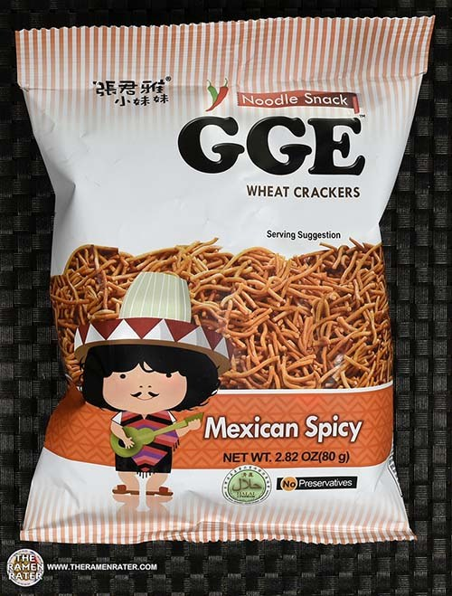 #2540: GGE Noodle Snack Wheat Crackers Mexican Spicy - Taiwan - The Ramen Rater -