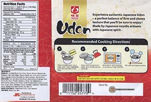 #2541: Myojo Udon Hot & Spicy Flavor - United States - The Ramen Rater