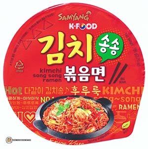 #2555: Samyang Foods Kimchi Song Song Ramen Big Bowl - South Korea - The Ramen Rater - instant noodles