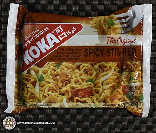 #2571: KOKA The Original Spicy Stir-Fried Noodles - Singapore - The Ramen Rater - instant noodles
