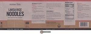 NL8: Meet The Manufacturer: Nona Lim Laksa Rice Noodles + Thai Curry & Lime Broth