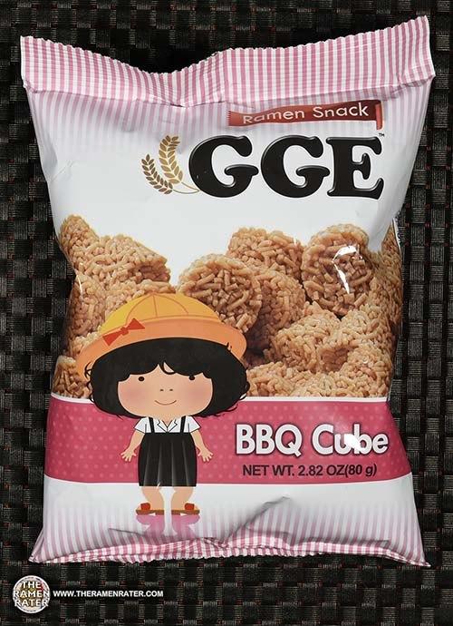 #2695: GGE Ramen Snack BBQ Cube
