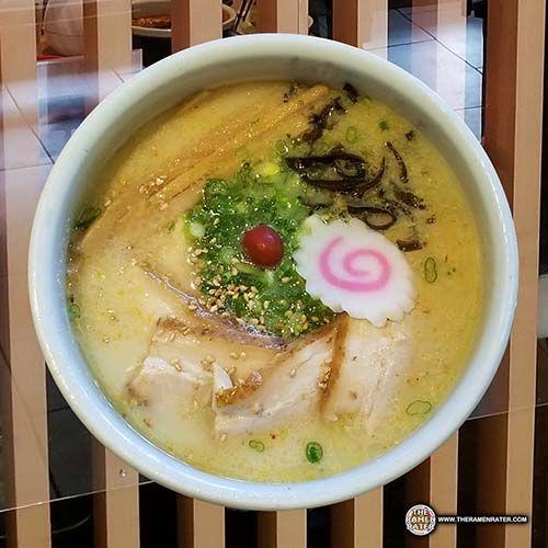 Restaurant: #2666: Hokkaido Ramen Santouka - Shio Tonkotsu - Bellevue, Washington