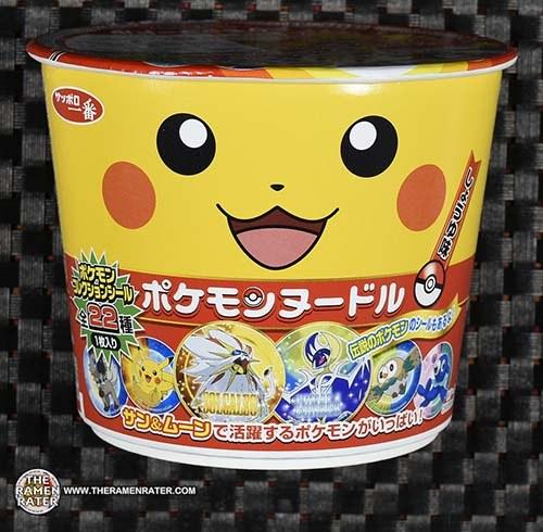 #2785: Sapporo Ichiban Pokemon Shoyu Ramen Japan Ramen Box