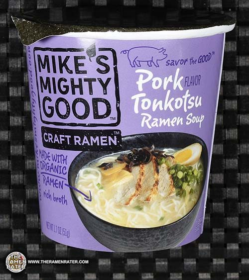 tonkotsu Meet The Manufacturer: #2795: Mike's Mighty Good Craft Ramen Pork Tonkotsu Flavor Ramen Soup