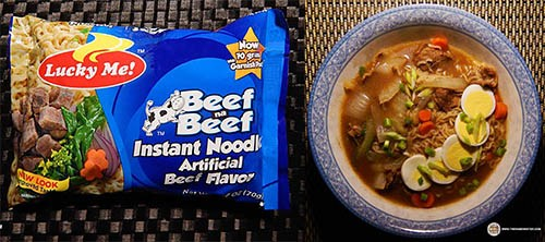 #9: Lucky Me! Beef Na Beef Instant Noodles