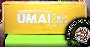 Unboxing Time: Japan Crate Umai Crate March 2018