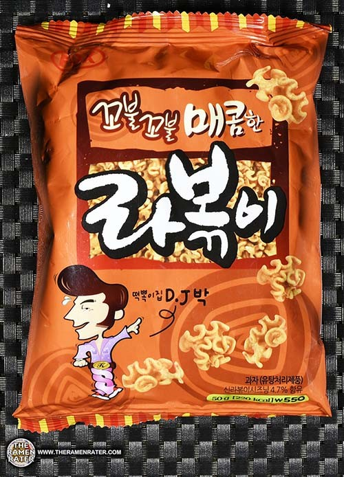 #2895: Fox D.J. Korean Tteokbokki Spicy Snack