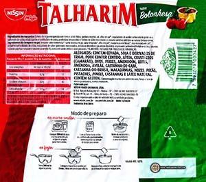 #2907: Nissin Miojo Talharim Sabor Bolonhesa