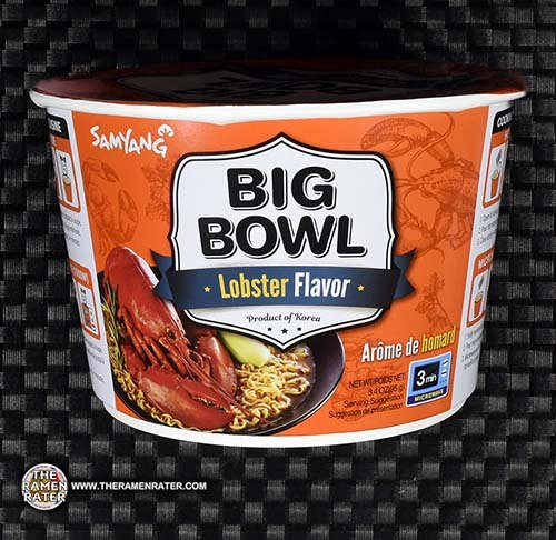 #2970: Samyang Foods Big Bowl Lobster Flavor - South Korea - The Ramne Rater