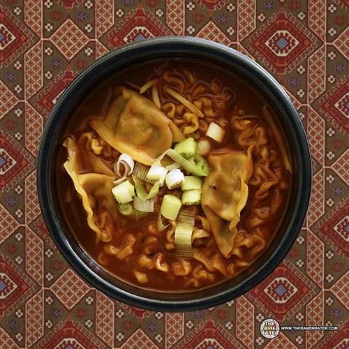 #3045: Samyang Foods Buldak Bokkeummyun Hot Chicken Flavor Gyoza Dumpling - South Korea