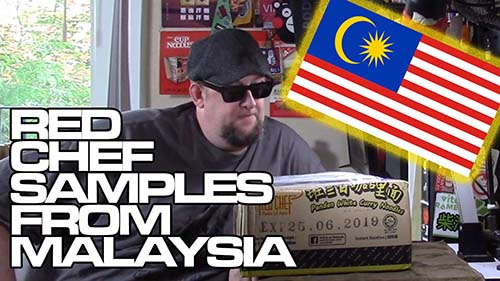Unboxing Time: Red Chef Samples - Malaysia