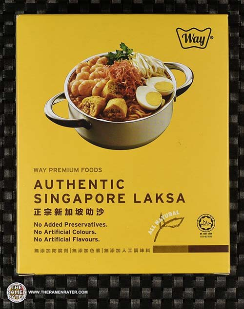 Meet The Manufacturer: #3090: Way Premium Foods Authentic Singapore Laksa - Malaysia
