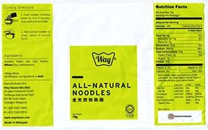 Meet The Manufacturer: #3092: Way Premium Foods Authentic Penang Asam Laksa - Malaysia
