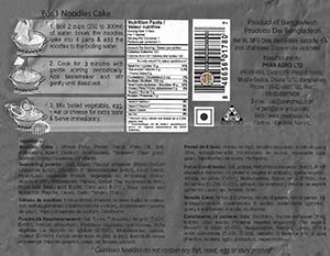 #3096: Canton Instant Noodles Spicy Tomato Flavour - Bangladesh