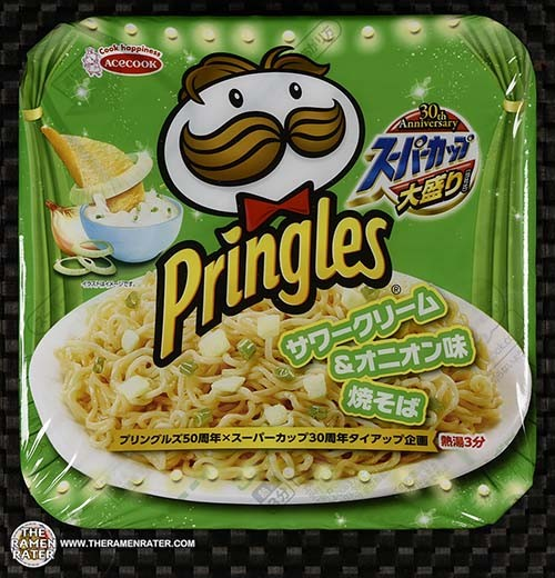 #3129: Acecook Super Cup Pringles Sour Cream & Onion Yakisoba - Japan