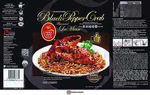 #3096: Prima Taste Singapore Black Pepper Crab Flavoured La Mian - Singapore