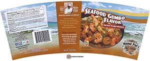 #3280: Mama Pat's Seafood Gumbo Flavor Instant Ramen Noodles - United States