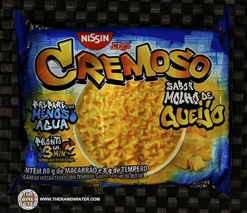#3310: Nissin Miojo Cremoso Sabor Molho De Queijo - Brazil