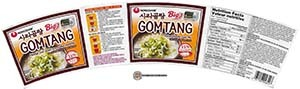 #3404: Nongshim Big Gomtang Instant Noodle Soup Mix - South Korea