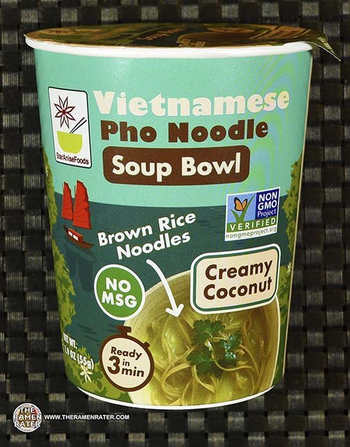 #3401: Star Anise Foods Vietnamese Pho Noodle Soup Bowl Creamy Coconut - United States