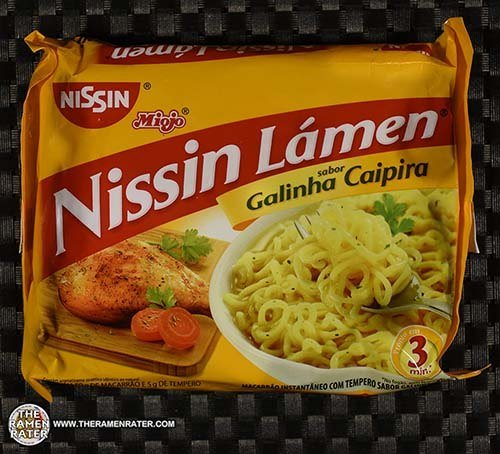 #3470: Nissin Miojo Nissin Lamen Sabor Galinha Caipira - Brazil