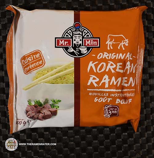 #3483: Mr. Min Original Korean Ramen Beef Flavor - France