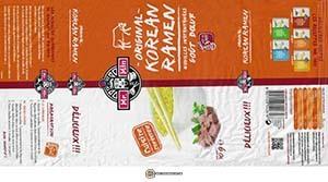 #3483: Mr. Min Original Korean Ramen Beef Flavor - France