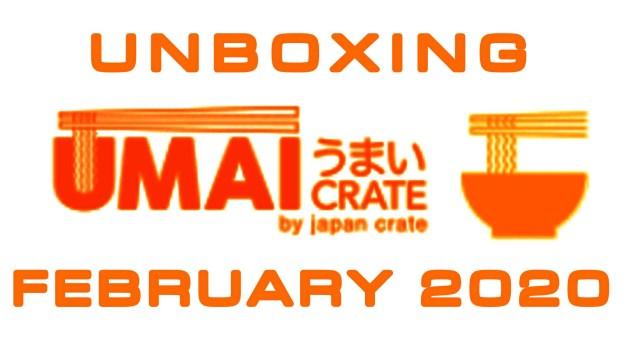 Umai Crate Japanese Ramen Subscription Box February 2020