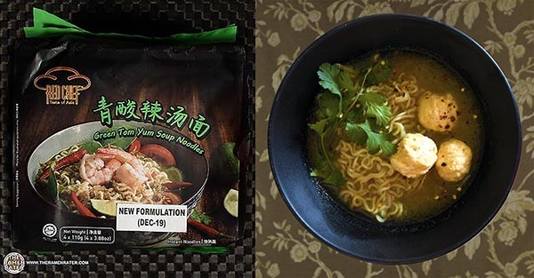 Top Ten Instant Noodles 2020 Red Chef Green Tom Yum Soup Noodles