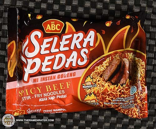 Meet The Manufacturer: #3601: mi ABC Selera Pedas Spicy Beef Stir-Fry Noodles - Indonesia