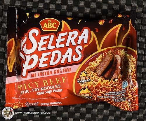 Meet The Manufacturer: #3601: mi ABC Selera Pedas Spicy Beef Stir-Fry Noodles - Indonesia