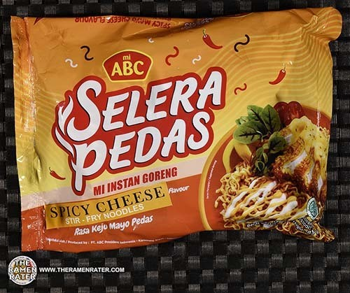 Meet The Manufacturer: #3603: mi ABC Selera Pedas Spicy Cheese Stir-Fry Noodles - Indonesia