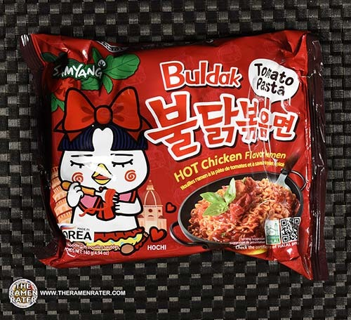 #3659: Samyang Foods Buldak HOT Chicken Flavor Ramen Tomato Pasta - South Korea