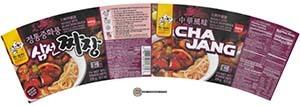 #3665: Wang Cha Jang Noodles With Black Bean Sauce - South Korea