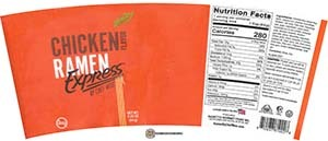 Meet The Manufacturer: #3670: Ramen Express By Chef Woo Chicken Flavor - United States