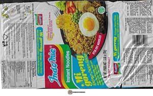 #3705: Indomie Instant Noodles Mi Goreng Barbeque Chicken Flavour - Indonesia